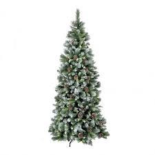 Black Christmas Tree Uk - flocked christmas trees christmas trees u0026 lights