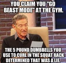 Gym Memes - beast mode funny gym meme