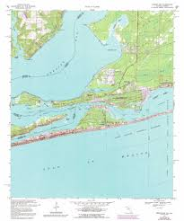 Map Of Alabama And Florida by Perdido Bay Topographic Map Fl Al Usgs Topo Quad 30087c4