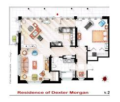 house floor plan tv floorplans how the apartments in your favourite shows are