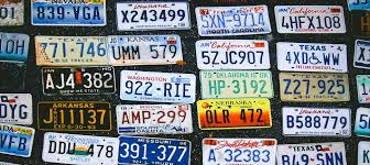 Usa License Plate Map by State The Plates Can You Recognize Every U S State U0027s License