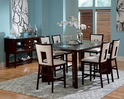buy delano dining room set by steve silver from www mmfurniture com