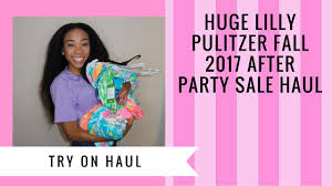 lilly pulitzer warehouse sale lilly pulitzer after party sale 2017 try on haul