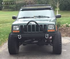 jeep 2000 wheel offset 2000 jeep cherokee super aggressive 3 5 suspension