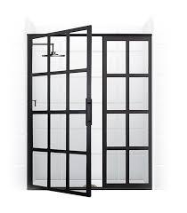 Manhattan Shower Doors by True Divided Light Swing Door U2013 Coastal Shower Doors Pretty