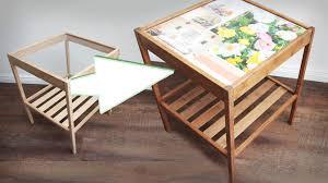 Wohnzimmertisch Versch Ern Tisch Mit Deko Schublade Im Aus Europalette Mit Metallfssen Und