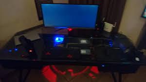 Homemade Gaming Desk by My Diy Pc Gaming Desk Album On Imgur