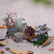 masquerade mask ornaments shaped lace color