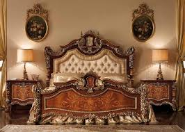 Acme Hollywood Chantelle Bedroom Set Antique Tufted Headboard Zamp Co