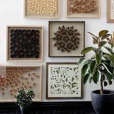 nature of wood wall cascade west elm for nature wall