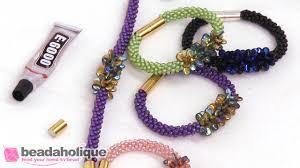 beaded bracelet kit images How to make the deluxe beaded kumihimo bracelet kit with pip bead jpg