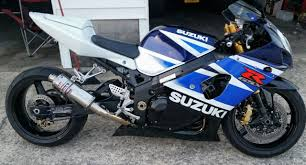 2004 gsxr 750 blue motorcycles for sale