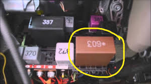 audi a6 relay panel location u0026 diagram commentary youtube