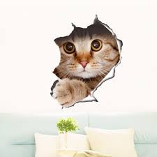 Decoration Cat Wall Decals Home by Online Get Cheap Dog Decor Wallpaper Aliexpress Com Alibaba Group