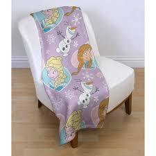 disney frozen fleece blankets bedroom bedding elsa olaf ebay
