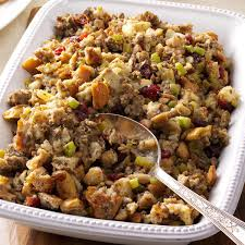 slow cooker thanksgiving stuffing savory sausage stuffing recipe taste of home