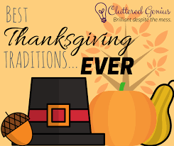 best thanksgiving traditions cluttered genius
