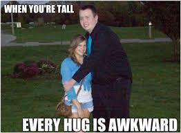 Short Person Meme - tallguyproblems tallpeople awkward meme memeoftheday hug