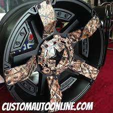 Ford Camo Truck Accessories - custom automotive wheels xd rockstar ii rs 2 811 black