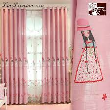 pink girl curtains bedroom lovely children s room girl curtains for living dining room