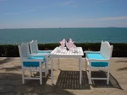 Outdoor Patio Furniture Miami by Best Summer Patio Furniture And Painted Wood Patio Furniture Item