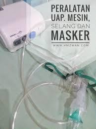 Masker Uap hm zwan menemani si kecil di uap nebulizer untuk yang pertama kali
