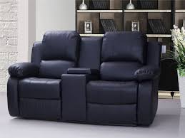 Recliner Sofa 2 Seater Recliner Sofa With Console Catosfera Net