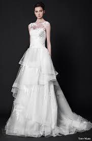 wedding dress trim tony ward 2016 wedding dresses abstract roses bridal