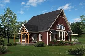 Timber Frame Cottage by Turnwood Cottage Timber Frame Home Floor Plans