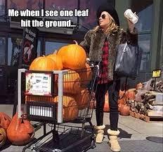 Pumpkin Spice Meme - 18 memes for the pumpkin spice loving basic white girls