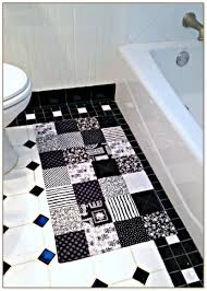 Black And White Bathroom Rug by And White Bathroom Rugs