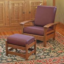 Morris Chair Morris Chair And Ottoman Woodworking Plan From Wood Magazine
