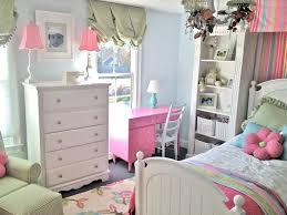cute white and light blue room decoration for teen bedroom