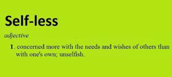 Urban Dictionary Soup Kitchen - selfless not selfish