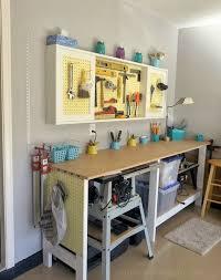 bike workshop ideas garage workbench and accessories home interiors