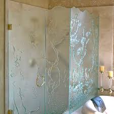 Sea Shower Doors An Underwater Themed Shower Enclosure Featuring A Variety Of Sea