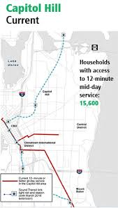 Seattle Light Rail Stops Metro Wants Hill Feedback On Bus Route Restructure Before 2016