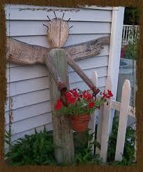 Rustic Garden Decor Ideas Primitive Outdoor Decor