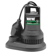 choosing the right sump pump wayne pumps