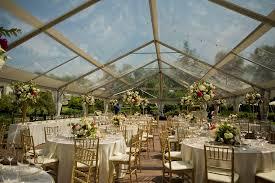 clear wedding tent clear top tents blue peak tents inc