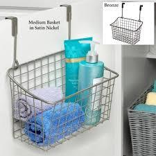 bathroom cool bathroom vanity set with wicker storage basket
