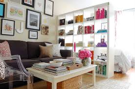 Office Living Room Ideas by Clever Open Shelving Ideas To Divide And Conquer Your Space Living