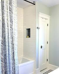 Shower Curtains For Glass Showers Enchanting Shower Curtains For Glass Showers Inspiration With