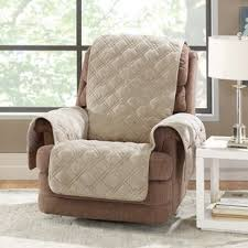 Reclining Sofa Slipcover Recliner Slipcovers You Ll Wayfair