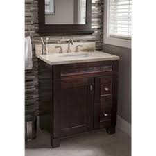 Allen Roth Vanity Lowes Shop Allen Roth Kingscote Espresso Undermount Single Sink Asian