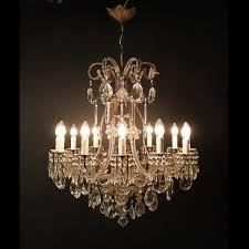 Esszimmerlampen Silber Grosse Antike Kristall Kronleuchter Alte Lampen Lüster Berlin