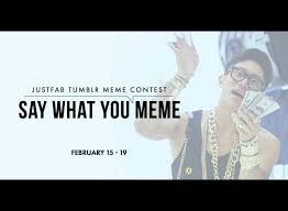 Say What You Meme - announcing the say what you meme tumblr contest