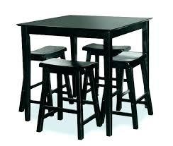 black high table and chairs pub bistro table sets serba tekno com