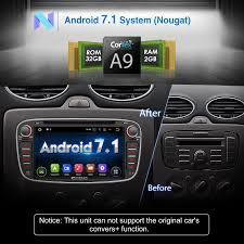 pumpkin android 7 1 2gb 32gb car stereo for ford focus 2008 2010