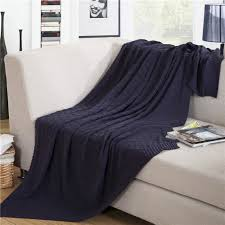 plaid coton pour canapé plaid pour canapé à tricoter en coton couverture jeté de canapé sofa